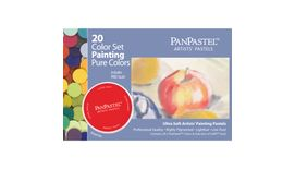 PanPastel Colors Ultra Soft Artist's Painting Pastels, Painting Set - Pure Colors - 20 Assorted Colours