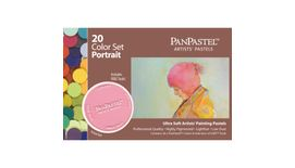 PanPastel Colors Ultra Soft Artist's Painting Pastels, Portrait - 20 Assorted Colours