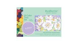 PanPastel Colors Ultra Soft Artist's Painting Pastels, Tints - 20 Assorted Colours