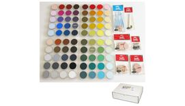 PanPastel Colors Ultra Soft Artist's Painting Pastels, Set of 80 Assorted Colours