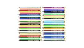 Koh-I-Noor Polycolor Artist's Coloured Pencils - Assorted - Set of 48