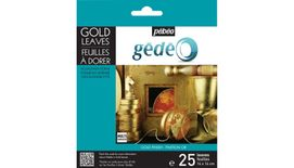 Pebeo Gedeo Gold Leaves - Gold - 14 X 14 cms - Pack of 25