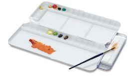 Mijello - Watercolour Palettes - Bullet Proof Glass