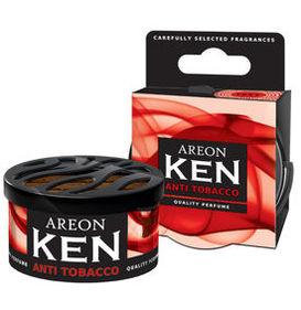 Areon Ken Gel Car Air Freshener - Anti Tobacco 35gm