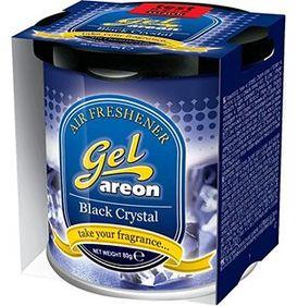 Areon Gel Car Air Freshener - Black Crystal 80gm