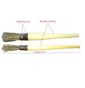 Autofresh Wooden Handle Sash Detailing Brush With Steel Ferrule Set of 2