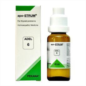 Adel 6 Apo-STRUM Drops for symptoms of thyroid problem