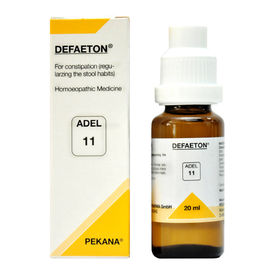 Adel 11 Defaeton drops - natural remedies for constipation
