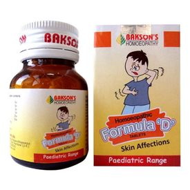 Bakson Formula D (Paediatric) Tablets