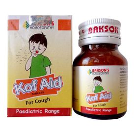 Bakson Kof Aid (Paediatric Pack for Children)