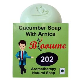 Blooume 202 Cucumber soap with arnica
