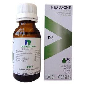 Doliosis D3 Headache drops