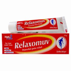 Hapdco Relaxomuv (Powerful pain relief ) Ointment