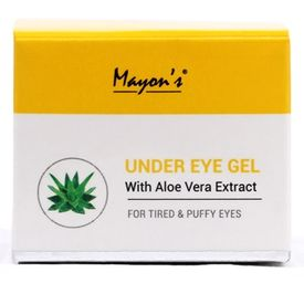 Mayons Under Eye Gel with Aloe Vera Extract for Tried and Puffy Eyes