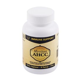 Myvitaa AHCC Capsules - Healthy Immune System Regulation, Boosts Resistance
