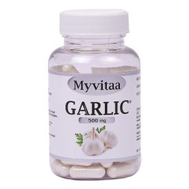Myvitaa Garlic Capsules - Maintains Overall Health