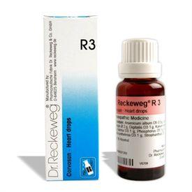 Dr.Reckeweg R3 Heart drops for Heart Weakness, Oedema, Valvular heart diseases, Dilations