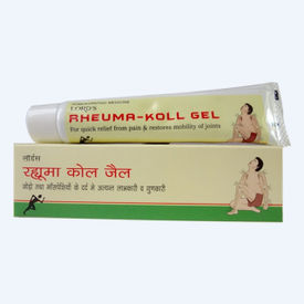 Lords Rheuma Koll Gel for Quick Relief from Pain and Restores Mobility of Joints