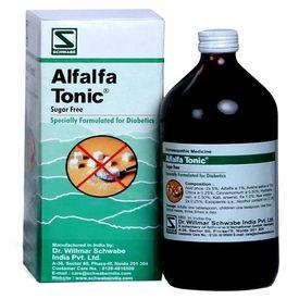 Schwabe Alfalfa Tonic Diabetic (Sugar free) for Weakness, Poor Appetite, Stress & Sleep Disorders
