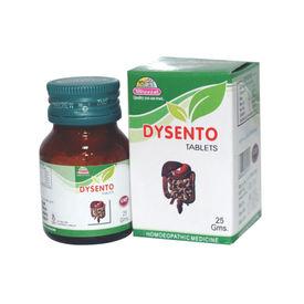 Wheezal Dysento Tablets Homeopathy Remedy for Diarrhea, Dysentery