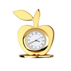 Speedwav Golden Apple Car Dashboard Decorative Clock