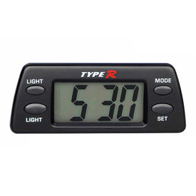 TypeR Car Dashboard Clock With Light