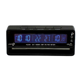 Speedwav VST-7010V Car Temperature Clock and Voltmeter