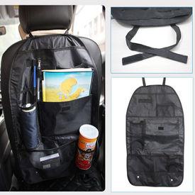 Speedwav Car Back Seats Multi-functional Pockets Storage Organiser - Black