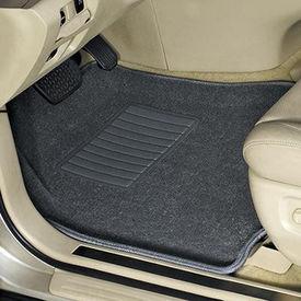 Speedwav Carpet Black Car Floor / Foot Mats