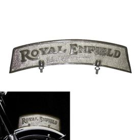 Speedwav CHROME Front Fender Plate for Royal Enfield
