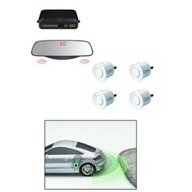 Speedwav Mirror Screen Voice Assist Reverse Parking Sensors Silver