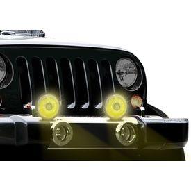 Speedwav 2.5 Inch Spot Beam Car Aux Lights-Yellow