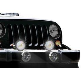 Speedwav 444AL-R Crystal Rainbow Car Fog Aux Light