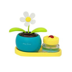 Flip Flap Solar Powered Dancing Plant With Perfume-Blue
