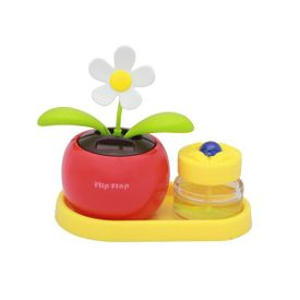 Flip Flap Solar Powered Dancing Plant With Perfume-Red