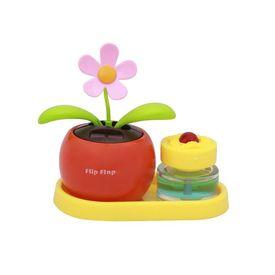Flip Flap Solar Powered Dancing Plant With Perfume-Orange