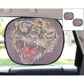 Ed Hardy Car Side Window Stick On Sunshades Set Of 2