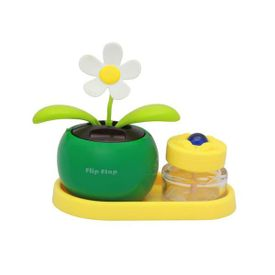 Flip Flap Solar Powered Dancing Plant With Perfume-Green