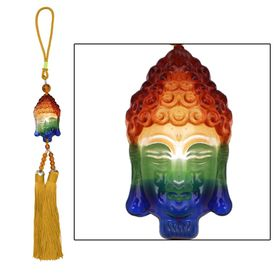 Speedwav Car Hanging Multicolor Crystal Gautam Budh - Golden