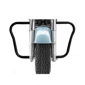 Speedwav Air Fly Bike Safety Leg Crash Guard-Black for Royal Enfield