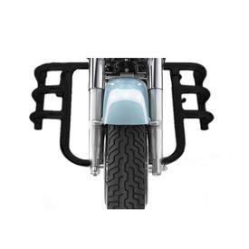 Speedwav MADRAS Bike Safety Leg Crash Guard-Black for Royal Enfield