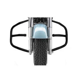 Speedwav Diamond Bike Safety Leg Crash Guard-Black for Royal Enfield