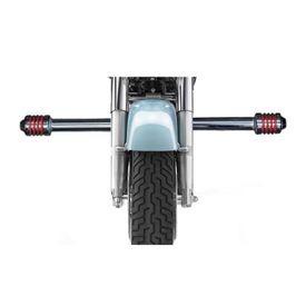 Speedwav Single Rod Bike Safety Leg Crash Guard-Chrome for Royal Enfield