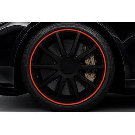 Speedwav Wheel/Rim Stylish Tape-Red