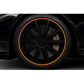 Speedwav Wheel/Rim Stylish Tape-Orange