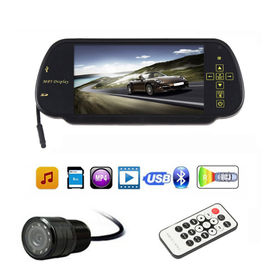 Speedwav 7 Inches Rear View Mirror Screen+Reverse Parking Camera