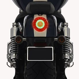 Speedwav Round LED Brake Light for Royal Enfield
