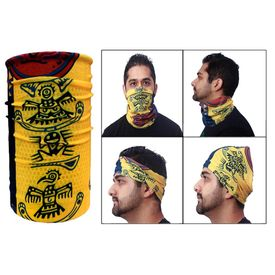 Jazzmyride Multifunctional Headwrap / Mask / Scarf-Ancient Culture