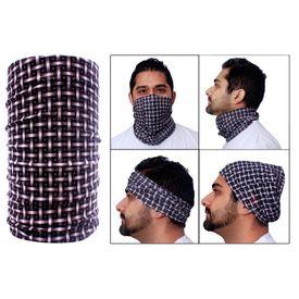 Jazzmyride Multifunctional Headwrap / Mask / Scarf-Checkers