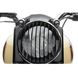 Speedwav Harley Style Headlight Cover Grill-Vertical for Royal Enfield